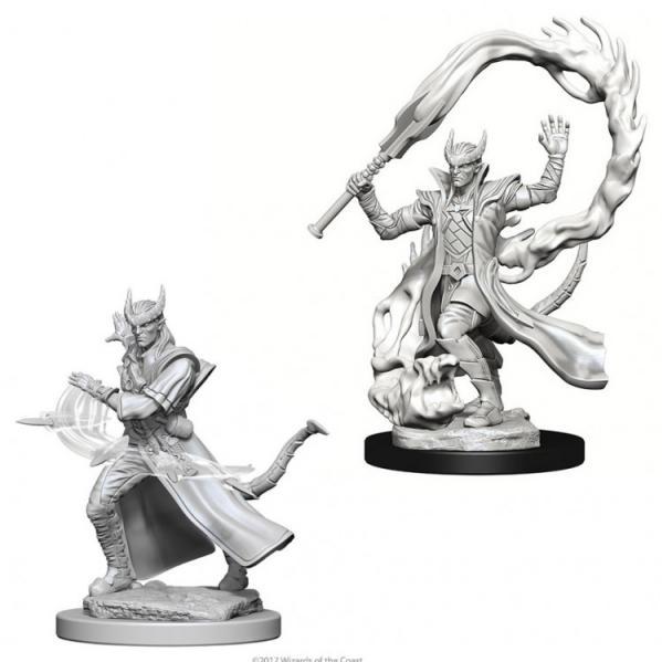 D&D Nolzurs Marvelous Unpainted Minis: Tiefling Male Sorcerer