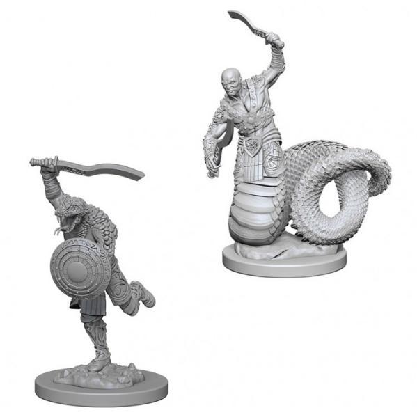 D&D Nolzurs Marvelous Unpainted Minis: Yuan-Ti Malisons