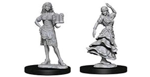 Pathfinder Battles Deep Cuts Unpainted Miniatures: Bartender/Dancing Girl