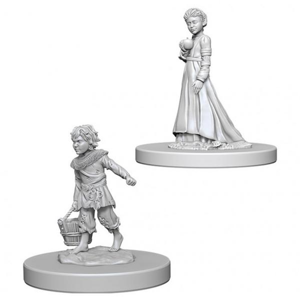 Pathfinder Battles Deep Cuts Unpainted Miniatures: Children
