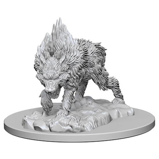 Pathfinder Battles Deep Cuts Unpainted Miniatures: Dire Wolf