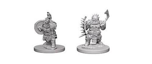 Pathfinder Battles Deep Cuts Unpainted Miniatures: Dwarf Male Barbarian