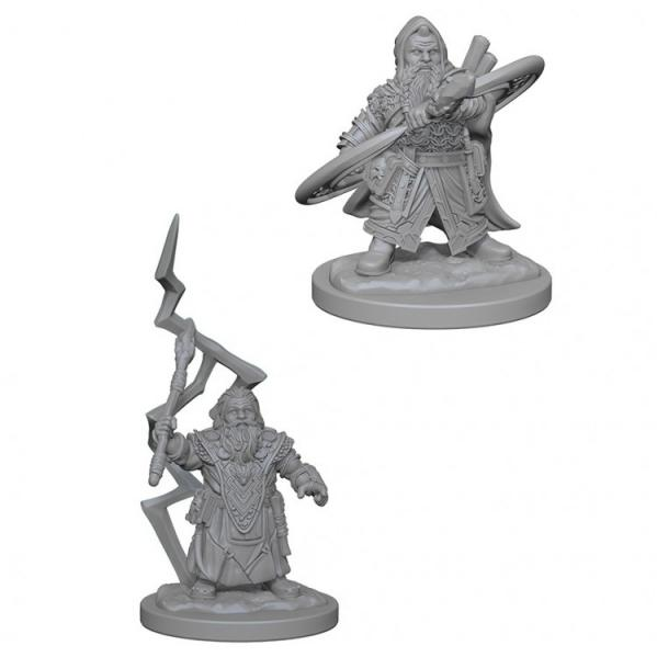Pathfinder Battles Deep Cuts Unpainted Miniatures: Dwarf Male Sorcerer