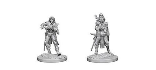Pathfinder Battles Deep Cuts Unpainted Miniatures: Elf Female Bard