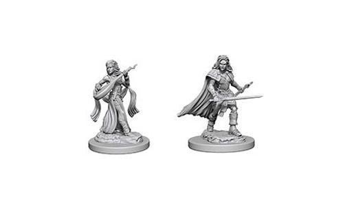 Pathfinder Battles Deep Cuts Unpainted Miniatures: Human Female Bard