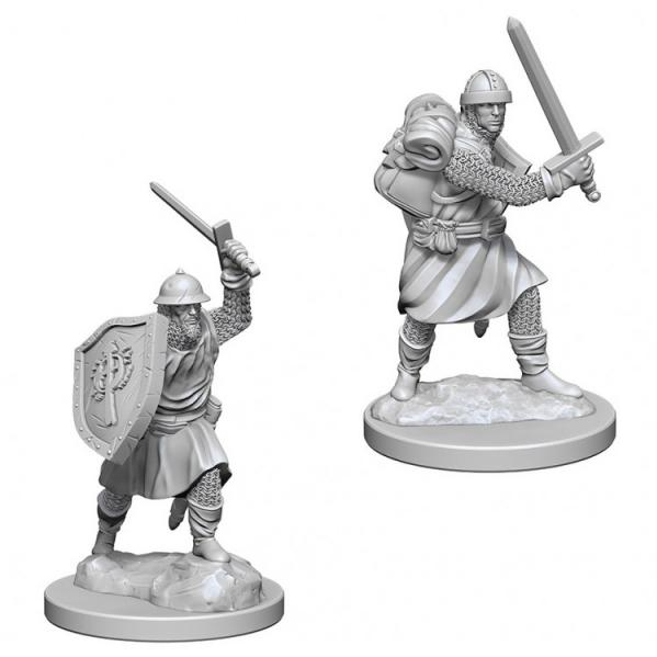 Pathfinder Battles Deep Cuts Unpainted Miniatures: Infantrymen