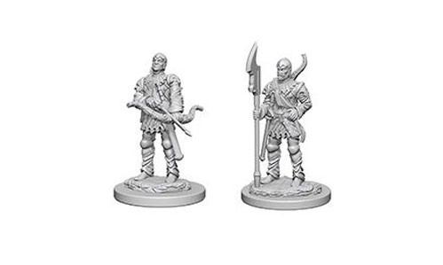 Pathfinder Battles Deep Cuts Unpainted Miniatures: Town Guards
