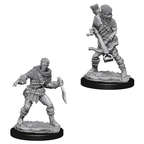 WizKids Deep Cuts Unpainted Miniatures: Bandits