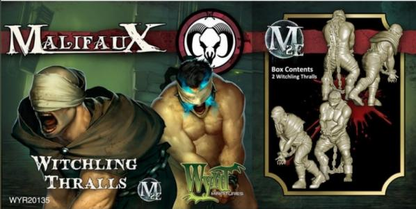 Malifaux: (The Guild) Witchling Thralls