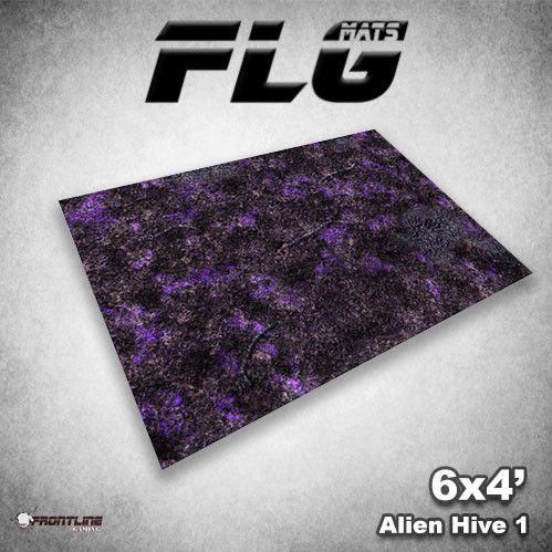 Frontline Gaming Mats: Alien Hive Purple 4x6'