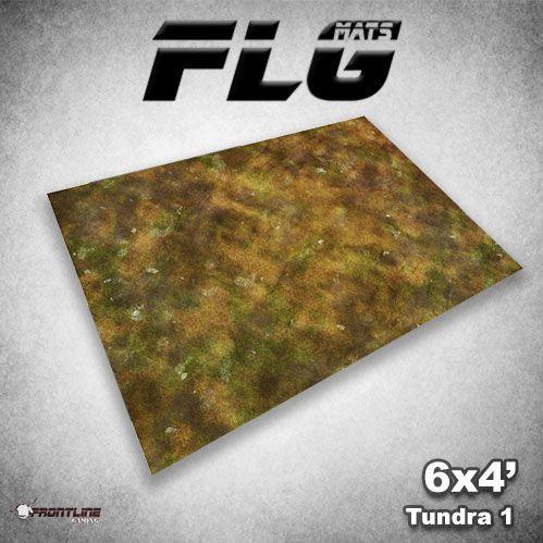 Frontline Gaming Mats: Tundra v1 4x6'