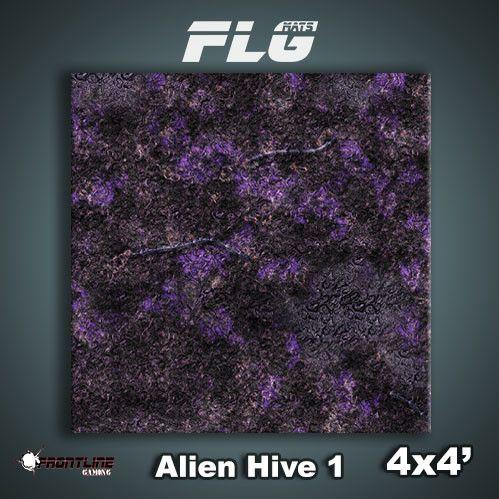 Frontline Gaming Mats: Alien Hive Purple 4x4'