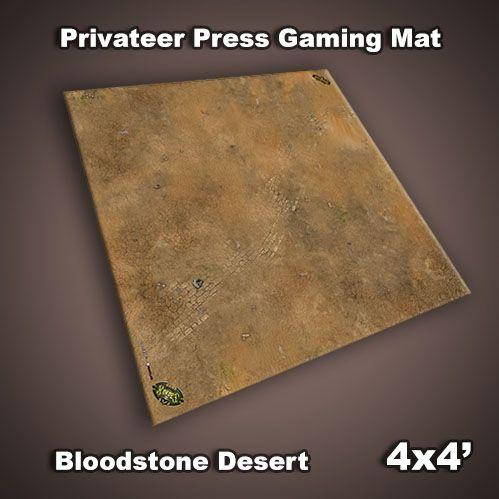 Frontline Gaming Mats: Privateer Press Mat - Bloodstone Desert 4x4'