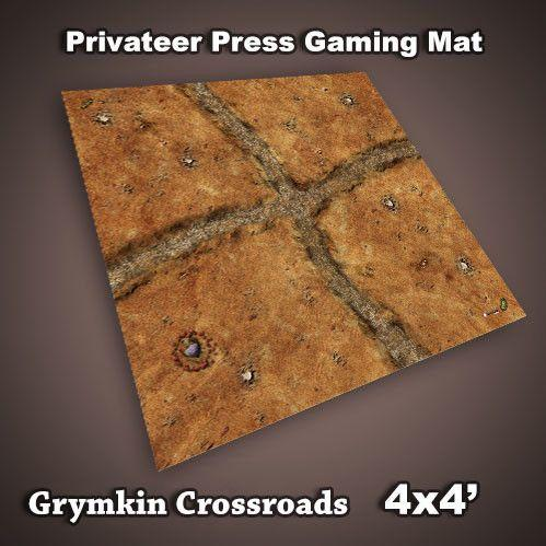 Frontline Gaming Mats: Privateer Press Mat - Grymkin Crossroads 4x4'