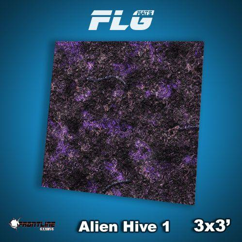 Frontline Gaming Mats: Alien Hive Purple 3x3'