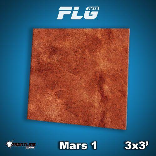 Frontline Gaming Mats: Mars v1 3x3'