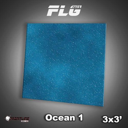 Frontline Gaming Mats: Ocean v1 3x3'