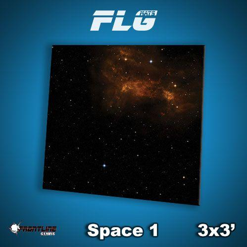 Frontline Gaming Mats: Space v1 3x3'