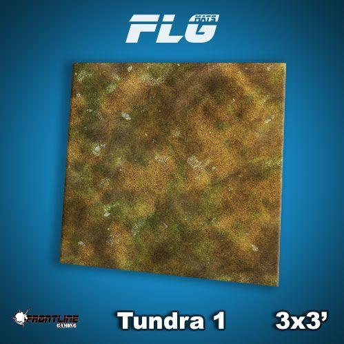 Frontline Gaming Mats: Tundra v1 3x3'