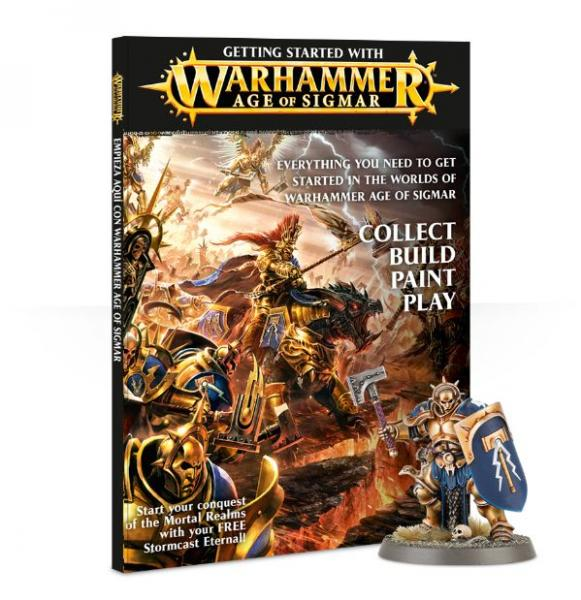 Age of Sigmar: Getting Started with Warhammer Age of Sigmar (SC)
