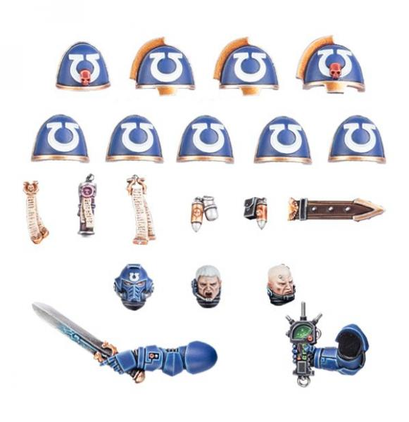 WH40K: SPACE MARINES - ULTRAMARINES PRIMARIS UPGRADES
