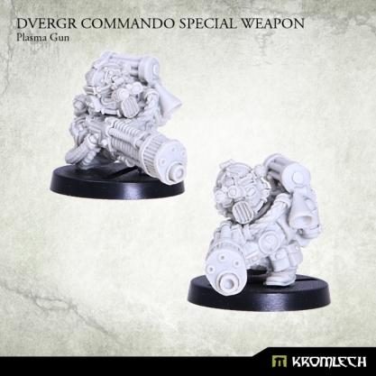 Kromlech Miniatures: Dvergr Commando Special Weapon Plasma Gun (1)