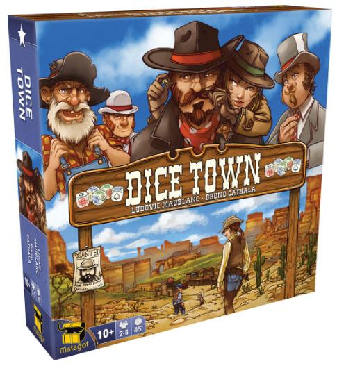 Dice Town: Core Game (Revised)