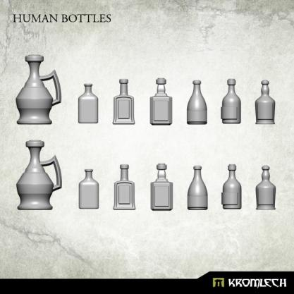 Kromlech Conversion Bitz: Human Bottles (14)