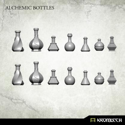Kromlech Conversion Bitz: Alchemic Bottles (14)