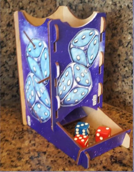 Knockdown Cosmic Dice Tower