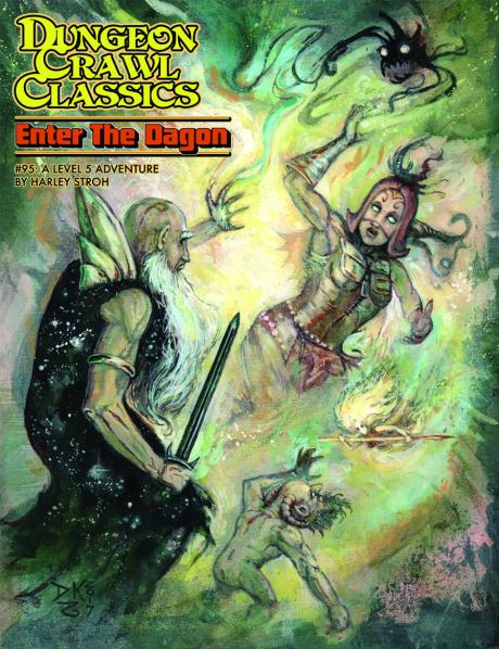 Dungeon Crawl Classics RPG: (Adventure) #95 Enter the Dagon