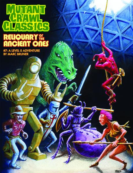 Mutant Crawl Classics #7: Reliquary of the Ancients (Adventure)