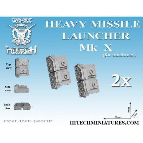 Miniatures Accessories: Heavy Missile Launcher MK X (2)