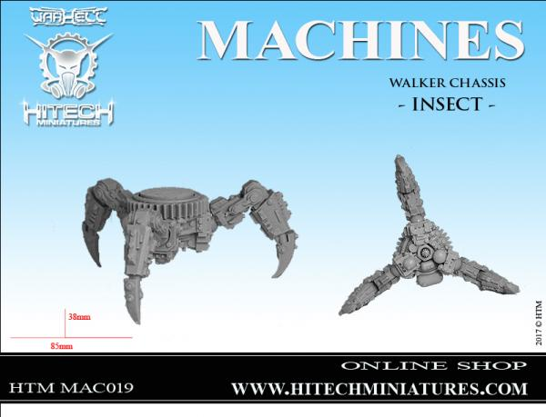 WarHell: (Bio-Tech Covenant) War Chasis Insect