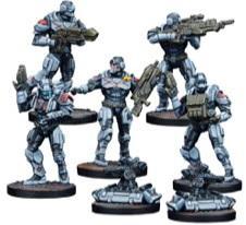 Deadzone, 2nd Edition: (Enforcers) Enforcer Command