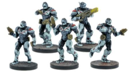Deadzone, 2nd Edition: (Enforcers) Breach & Eradicate Team