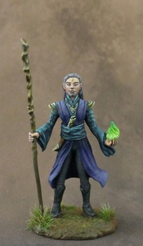 Stephanie Law Masterworks: Male Mage with Staff