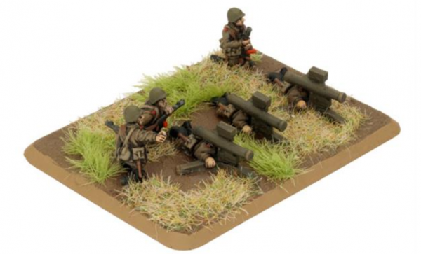 Team Yankee: Afgantsy Heavy Weapons (Plastic)