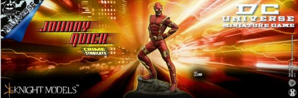 Knight Models DC Universe: JOHNNY QUICK (Multiverse)