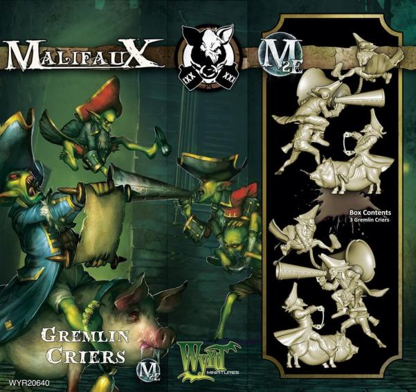 Malifaux: (The Gremlins) Gremlin Criers