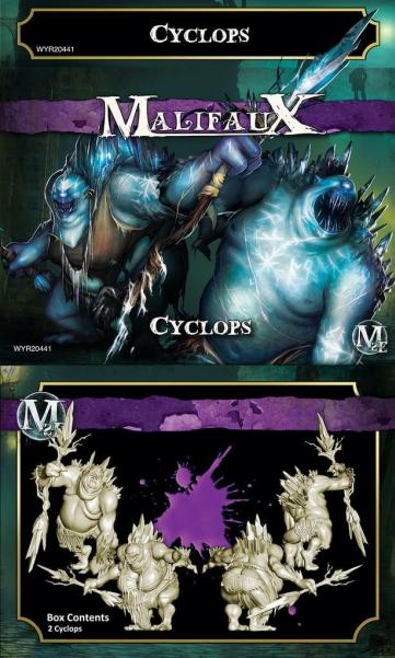 Malifaux: (The Neverborn) Cyclops