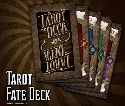 Through The Breach RPG: Tarot Fate Deck