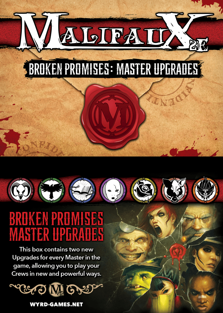 Malifaux: Broken Promises Upgrade Deck