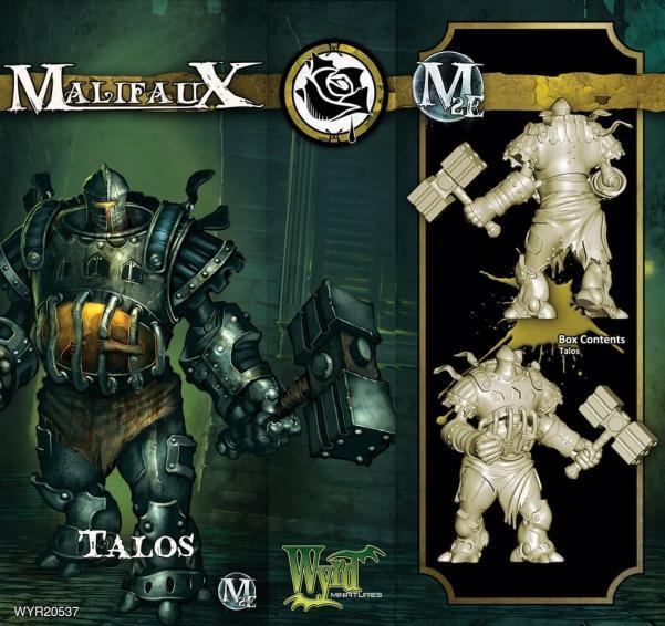 Malifaux: (The Outcasts) Talos