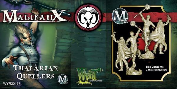 Malifaux: (The Guild) Thalarian Queller