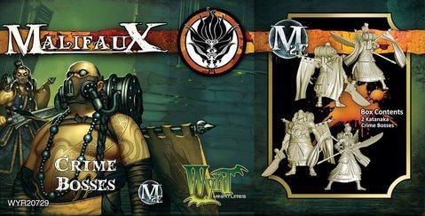 Malifaux: (Ten Thunders) Crime Bosses