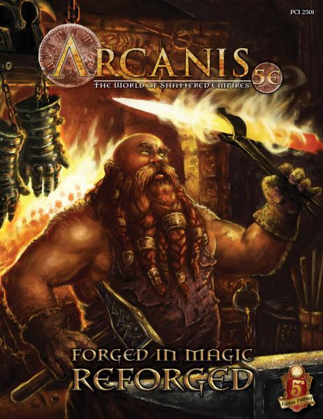 Arcanis RPG: Forged in Magic - REFORGED