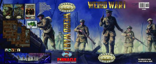 Savage Worlds RPG: (Weird War I) Collector's Box Set