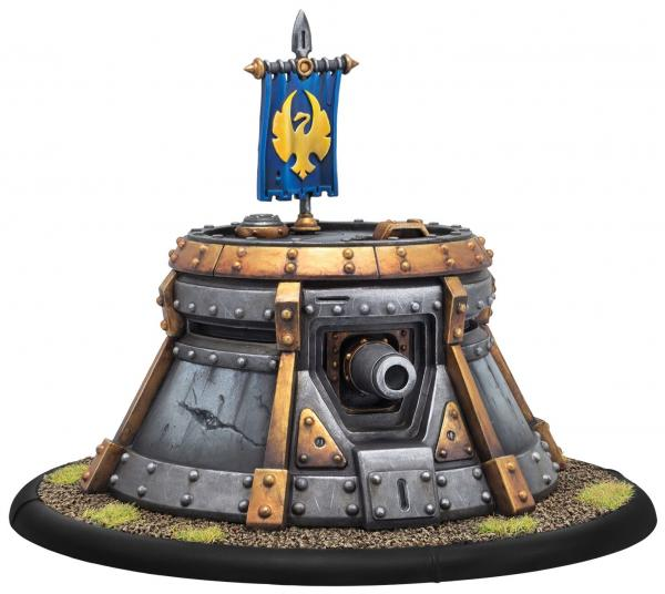 Warmachine: (Cygnar) Trencher Blockhouse - Cygnar Structure (resin)