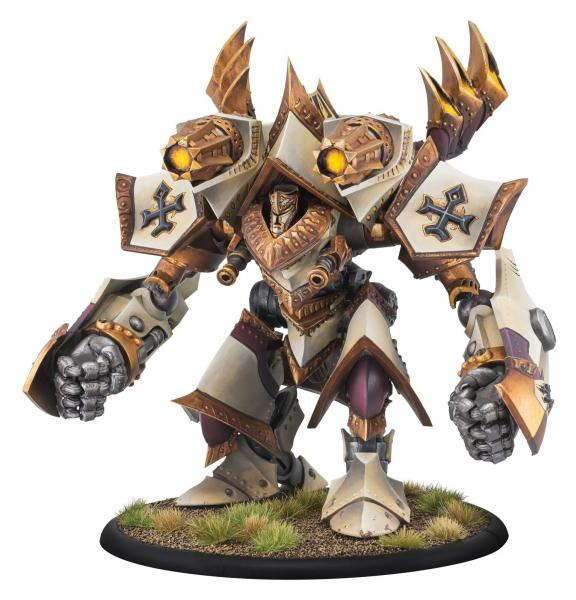 Warmachine: (The Protectorate Of Menoth) Judicator/Revelator Colossal Kit (plastic)